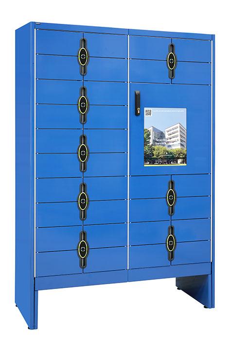 Kuva sinisestä älykaapista